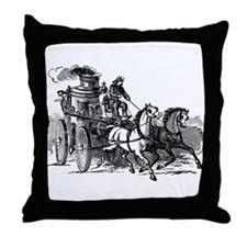 Fire Engine Throw Pillow