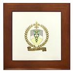 LEMAITRE Family Crest Framed Tile
