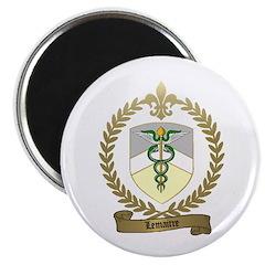 LEMAITRE Family Crest Magnet