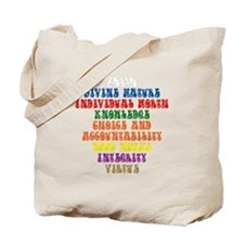 YW Values Tote Bag