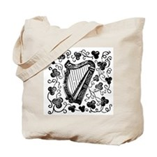 Clover Harp Tote Bag