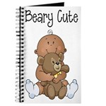 Beary Cute(African American Boy) Journal