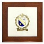 LEMIRE Family Crest Framed Tile