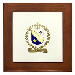 LEMIRE Family Crest Framed Tile