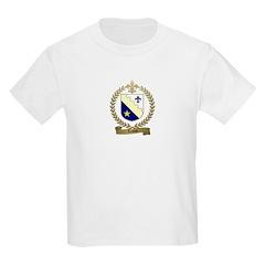 LEMIRE Family Crest Kids T-Shirt