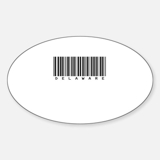Delaware Oval Sticker (10 pk)