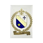 LEMIRE Family Crest Rectangle Magnet (100 pack)