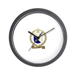 LEMIRE Family Crest Wall Clock