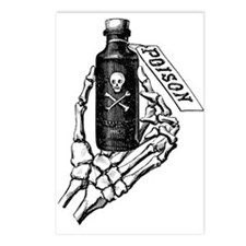 Poison Bottle Postcards (Package of 8)