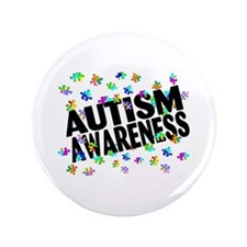 "Autism Awareness 3.5"" Button (100 pack)"