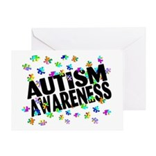 Autism Awareness Greeting Card