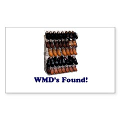 WMDs Found! Rectangle Decal