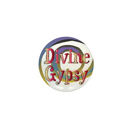 Divine Gypsy Swirly Gig Mini Button (10 pack)