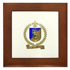 LEMOYNE Family Crest Framed Tile