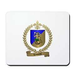 LEMOYNE Family Crest Mousepad