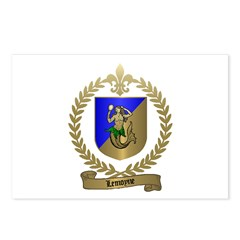 LEMOYNE Family Crest Postcards (Package of 8)