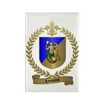 LEMOYNE Family Crest Rectangle Magnet