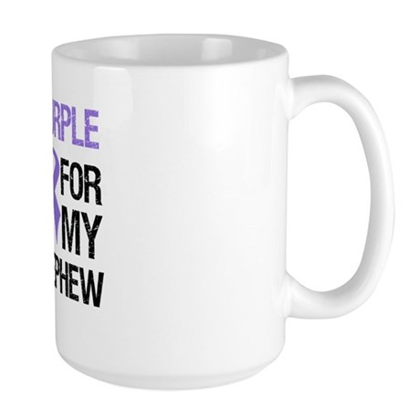 IWearPurple Nephew Large Mug