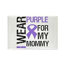 IWearPurple Mommy Rectangle Magnet (10 pack)