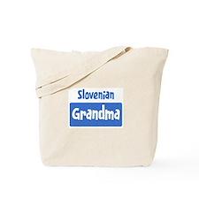 Slovenian grandma Tote Bag