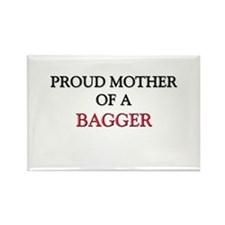Proud Mother Of A BAGGER Rectangle Magnet
