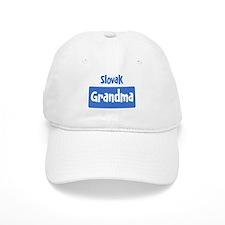 Slovak grandma Baseball Cap
