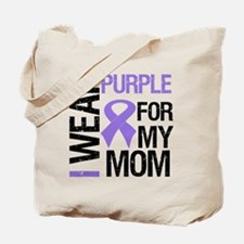 IWearPurple Mom Tote Bag