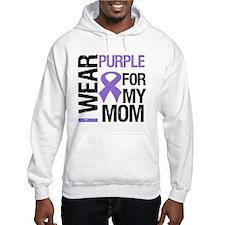 IWearPurple Mom Hoodie