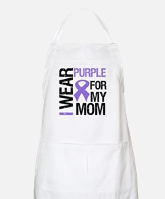 IWearPurple Mom BBQ Apron