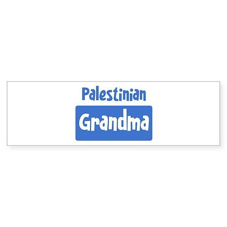 Palestinian grandma Bumper Sticker