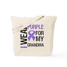 IWearPurple Grandma Tote Bag