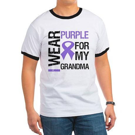 IWearPurple Grandma Ringer T