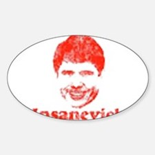 Insanevich Oval Decal