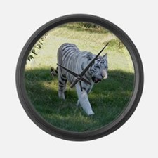 Cool Cats father Large Wall Clock