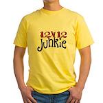 12x12 Junkie Yellow T-Shirt
