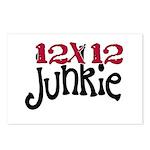 12x12 Junkie Postcards (Package of 8)