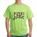 12x12 Junkie Green T-Shirt