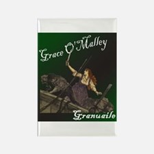 Grace O'Malley (Granuaille) Rectangle Magnet