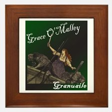 Grace O'Malley (Granuaille) Framed Tile