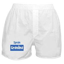 Syrian grandma Boxer Shorts