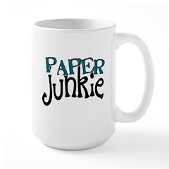 Paper Junkie Large Mug