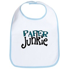 Paper Junkie Bib