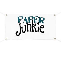 Paper Junkie Banner