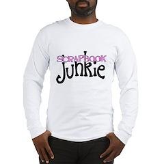 Scrapbook Junkie Long Sleeve T-Shirt