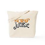 Scrap Junkie Tote Bag