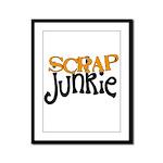 Scrap Junkie Framed Panel Print
