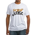 Scrap Junkie Fitted T-Shirt