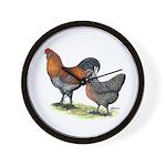 Ameraucana Fowl Wall Clock