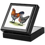 Ameraucana Fowl Keepsake Box