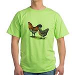 Ameraucana Fowl Green T-Shirt